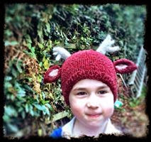 Plan B was to knit something practical like a hat but with a Xmas feel to  it 463d42628d4