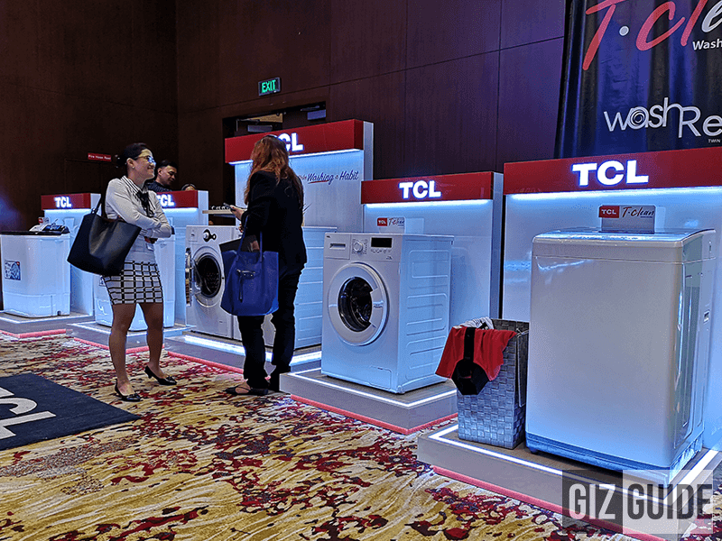 TCL's washing machine line