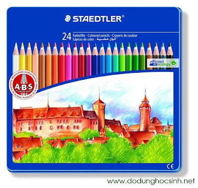 Bút chì màu STAEDTLER 24 màu CASTLES