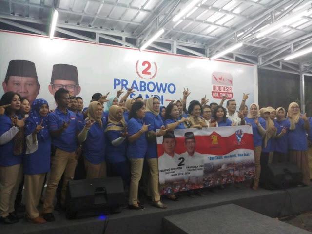 Menangkan Prabowo-Sandi, Relawan PASA Siap Turun ke Lapangan