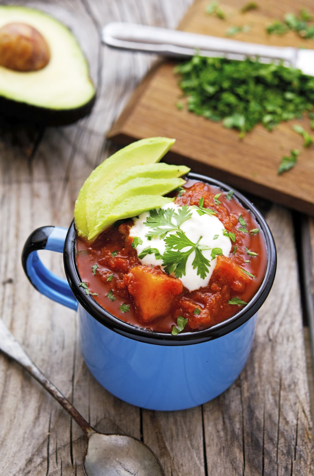 Easy Crock-Pot Sweet Potato Turkey Chili