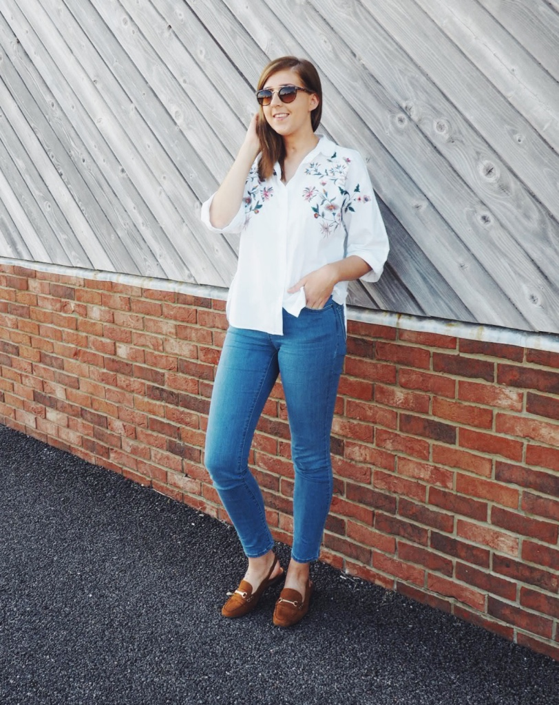 asseenonme, dolcandgabbanadressdupe, floralshirt, lotd, nextloafers, ootd, outfitoftheday, whatimwearing, wiw, zaratop, zaraembroideredshirt, fbloggers, fashionbloggers