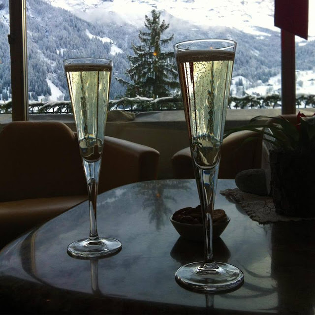 Welcome Drink Hotel Belvedere Grindelwald