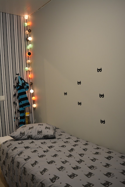 batman tekstiilit pojan huone