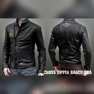 jaket kulit barcelona