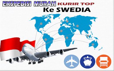 JASA EKSPEDISI MURAH KURIR TOP KE SWEDIA