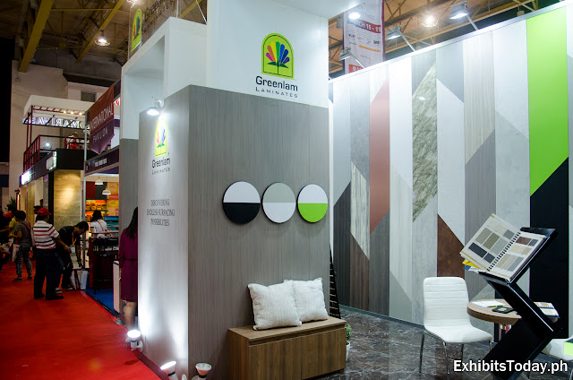 Greenlam Exhibition Booth