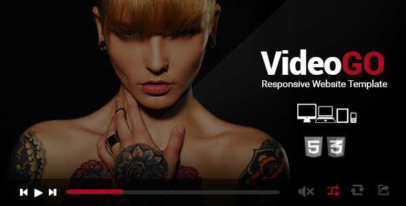 Download VideoGo - Responsive Video Site Template