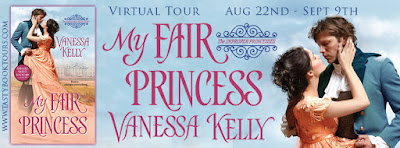 {Review |  Excerpt | Giveaway} My Fair Princess (The Improper Princesses #1) – Vanessa Kelly