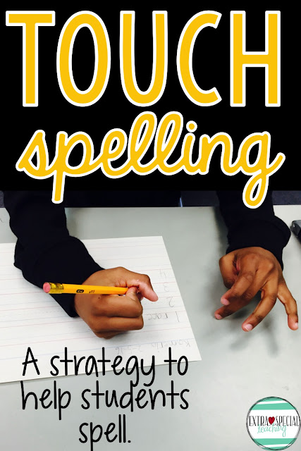 Do your students need help spelling and activities to encourage spelling? Touch spelling has been so helpful for my students!