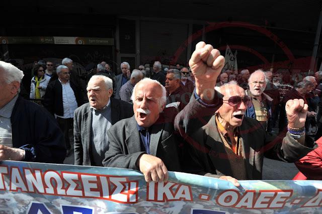 Γιάννενα: Οι συνταξιούχοι βγαίνουν στους δρόμους