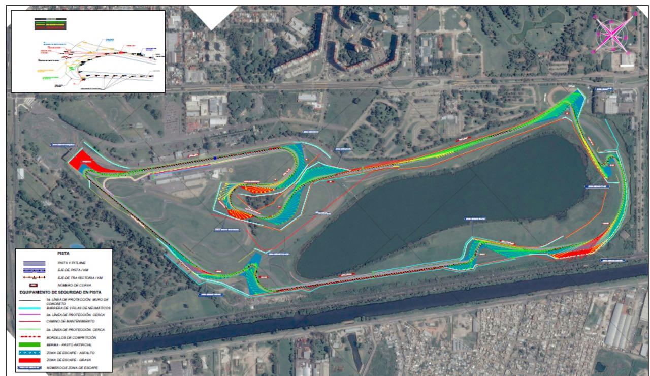 Circuito Yerbatero Argentina : El reten así sería diseño del circuito