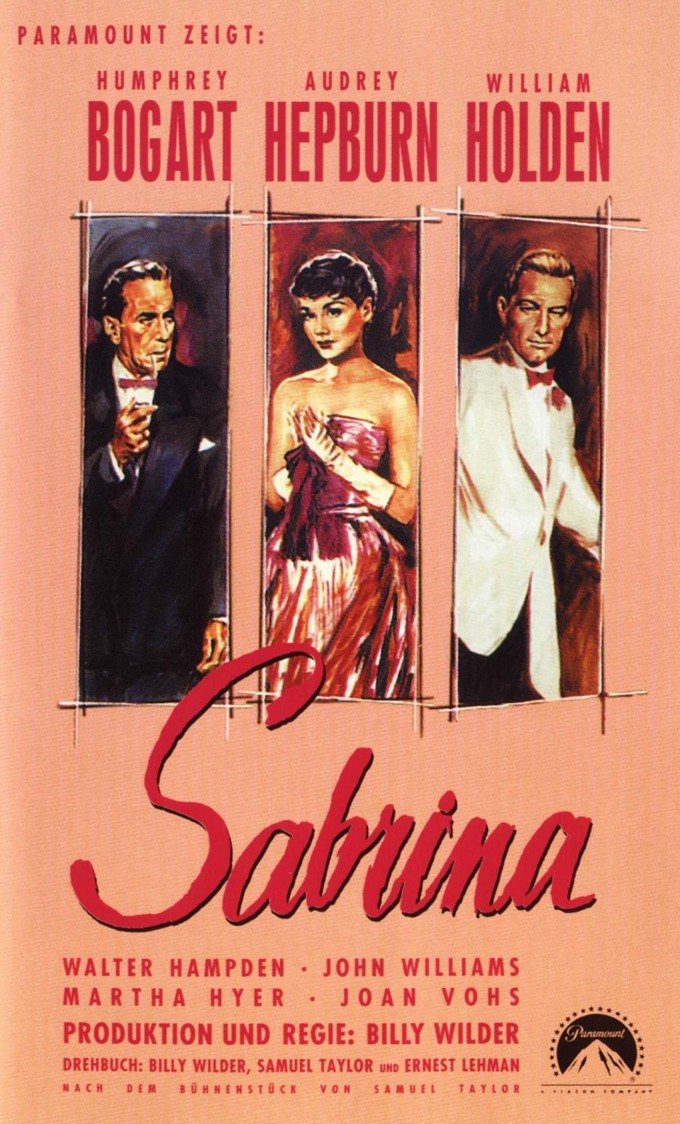 Sabrina filme de 1954 com a maravilhosa Audrey Hepburn