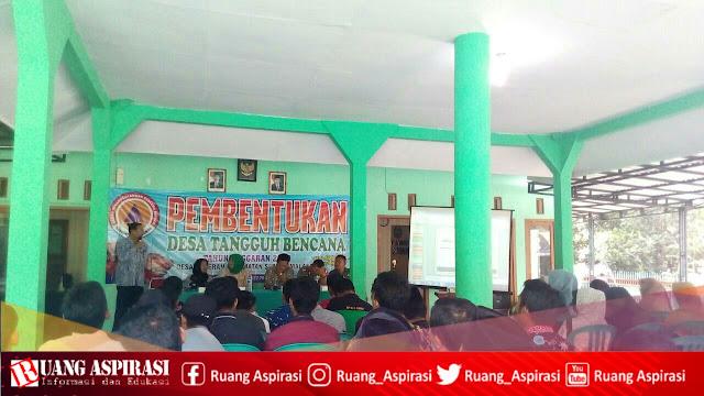 Pembentukan Desa Tangguh Bencana Desa Baderan oleh BPBD Kab. Situbondo