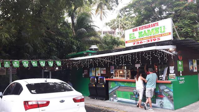 Geheimtipp auf Puerto Rico: essen im Kiosco am Straßenrand