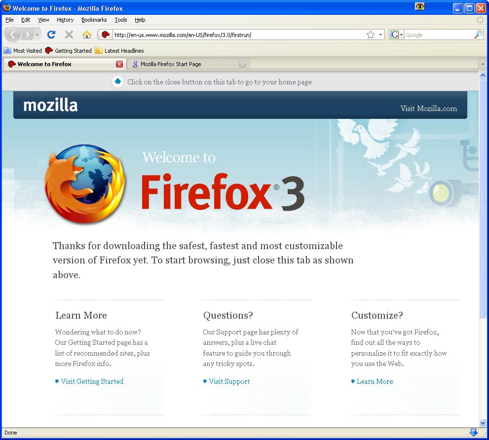 How To Make Google My Homepage On Firefox