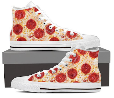 Pizza Men's High Tops