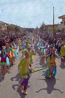 Les Quadres, Carnaval 2017 Sant Jaume dels Domenys
