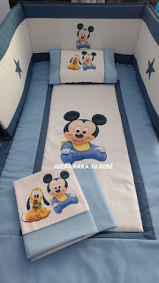 Set cuna mickey