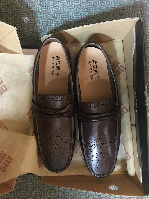 rosegal menswear review, rosegal review shoes, rosegal loafers,