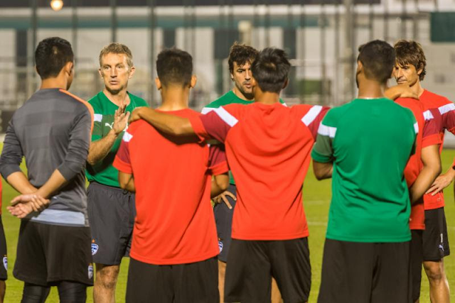 Albert Roca pre-match Thoughts and Training Images