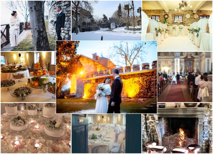 Matrimonio D Inverno Location Toscana : Matrimonio invernale sposarsi in inverno: un castello innevato per