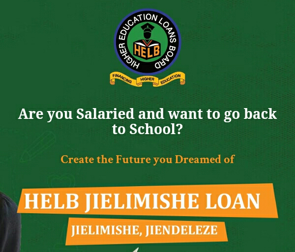Jielimishe loan from Helb