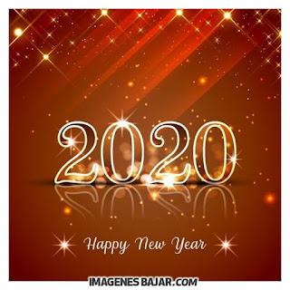 happy new year 2020 Imágenes de Felices Fiestas. Tarjetas para enviar por WhatsApp y Facebook