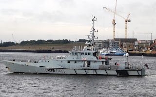 Border Force,Cutter,Seeker,Tyne,Her Majesty's Cutters,HMC, Ships on the Tyne,Royal Navy, Tyne Shipping,