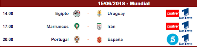 CCcam Para Ver Los Partidos Del Mundial Russia 2018 Espana vs portugal