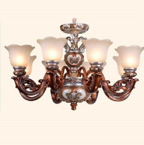 Những mẫu đèn chùm phòng khách giá rẻ dưới 5 triệu đồng