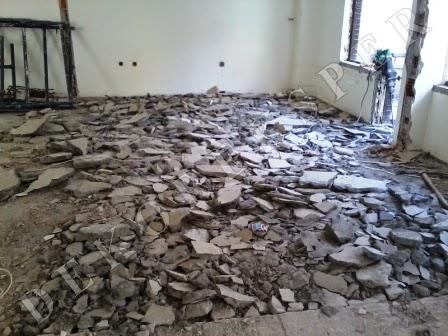Bina içi kırım, yıkım işleri, moloz hattı