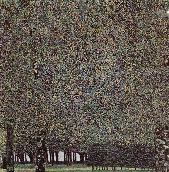 Klimt The Park, 1910