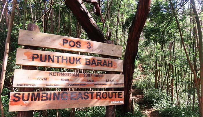 Pos 3 Punthuk Barah