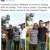 Danny Welbeck visits his family in Ghana