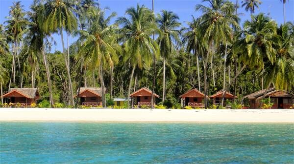 Penginapan Pulau Palambak Aceh Singkil