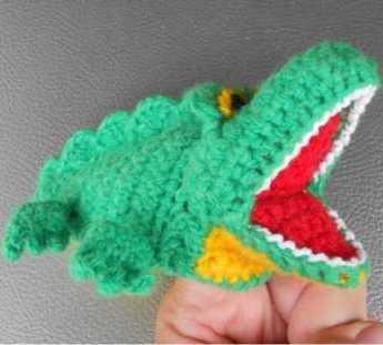 Крокодил амигуруми игрушка крючком