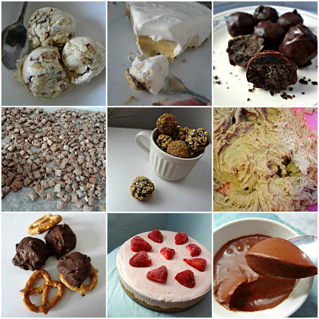 No Bake Dessert Recipes Round Up