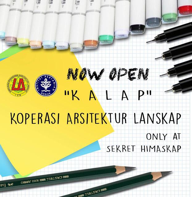 [NOW OPEN] Koperasi Arsitektur Lanskap (KALAP)