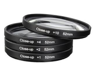 Macro close up filters