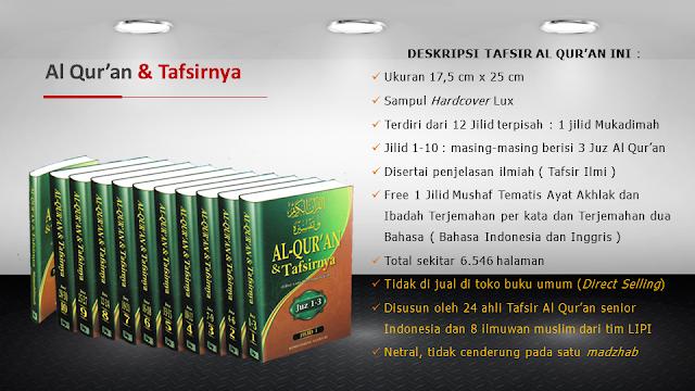 Spesifikasi Tafsir Al Quran Kemenag RI