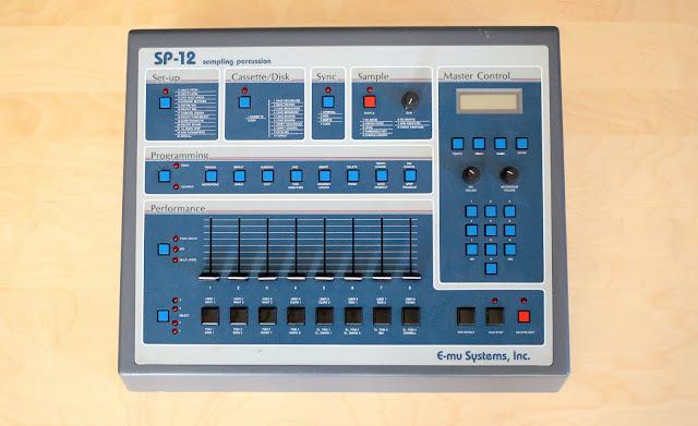 matrixsynth emu sp 12 vintage sampling drum machine. Black Bedroom Furniture Sets. Home Design Ideas