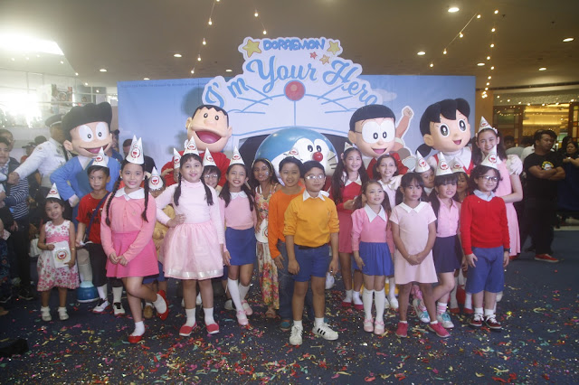 Over 2 Million Reached by Doraemon's I'm Your Hero Campaign at SM Supermalls