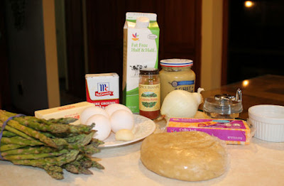 Asparagus Quiche Ingredients
