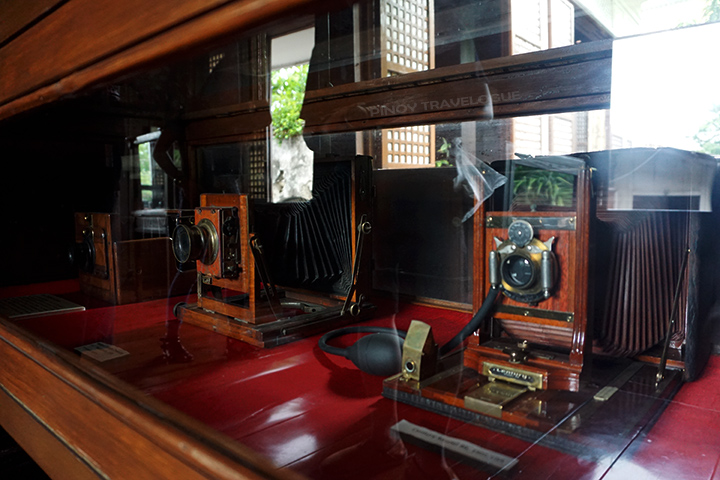 Vintage cameras of Galleria Taal