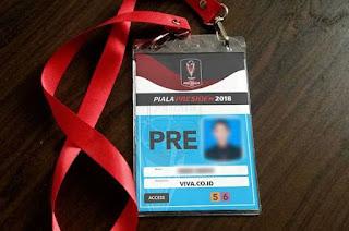 Panpel Persib Tarik ID Card Wartawan Viva.co.id Akibat BeritaTendensius