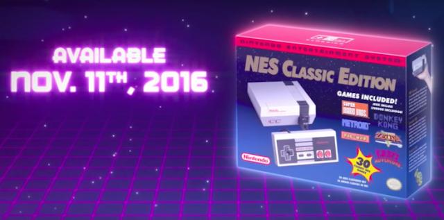 Con este video Nintendo muestra el Mini NES en acción