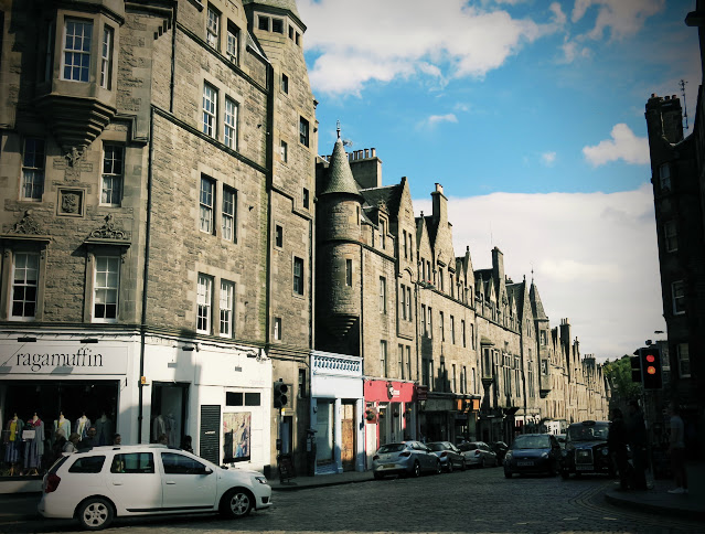 Edinburgh i Skottland