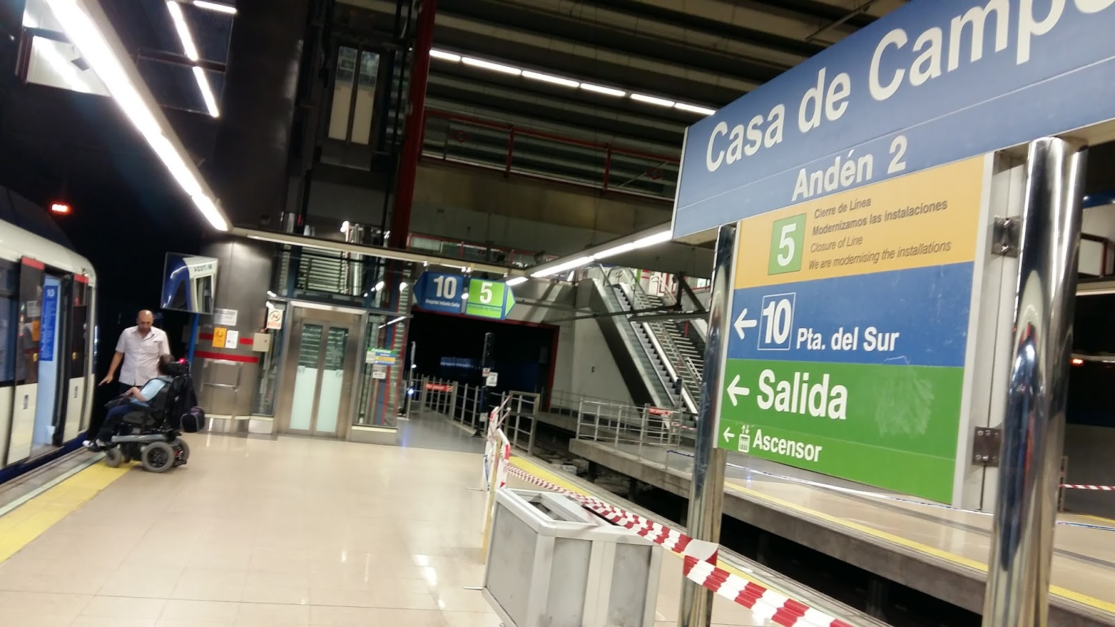 Cierra por obras la l nea 5 de metro del 3 de julio al 3 for Piscina municipal aluche