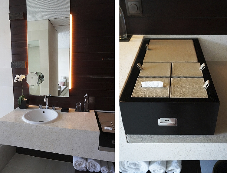 Euriental | fashion & luxury travel | Alila Villas Uluwatu, inside the villa - bathroom sink